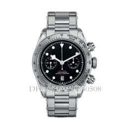 Top Luxury Vk Cronógrafo Reloj para hombre Cuarzo japonés Volante de acero inoxidable Correa Relojes deportivos para hombre Reloj helado fuera de línea desde fabricantes