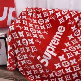 2019 traje de sirena de invierno Carta de diseño de moda Invierno Mantas Fall regalos de la marca de ropa de cama Toallas Habitación de cumpleaños para la hembra Espesar manta