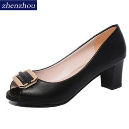 257e3ddf1ebe80 Designer Dress Shoes Pumps 2019 The new spring and summer Fish-mouth sandals  for women Metal single shoe women s Shallow-mouth heel