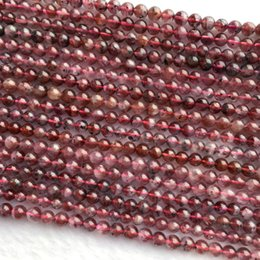 """2019 14mm weißes kristallarmband Discount Wholesale Genuine Natural Lila Rot Auralite 23 Super 23 Kristall Kleine Runde Lose Perlen 4mm 5mm 6mm 15,5 """"06049"""