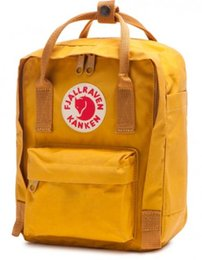 Mochila escola raposa on-line-Nova FJALL esporte RAVEN mochila kankeN saco sacos de escola swiden marca fox kankeN clássico 16l mochilas de viagem esportes à prova d 'água b