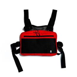mochila cruz roja Rebajas Bolso bandolera cruzada blanca Alyx roja Mochilas A1: 1 de alta calidad nuevo color streetwear funcional bolsa de pecho kanye west