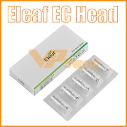 bobinas de protank 2.5ohm Rebajas 100% original iJust EC Head 0.3ohm 0.5ohm ECL 0.18ohm EC Ceramic Core Head Coils para iJust 2 Atomizador Melo 3 Tanque