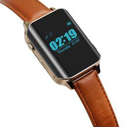 Gps localizar online-A16 Smart Watch GPS Tracker Smart GPS Localizador de Reloj Para Ancianos ubicando Monitor de Ritmo Cardíaco Reloj de pulsera Soporte Tarjeta SIM D100