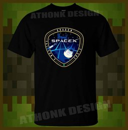 SpaceX T-SHIRT SpaceX CRS-3 SPACEX DRAGON FALCON 9 CRS 3 Men s T-SHIRT  summer Hot Sale New Tee Print Men T-Shirt Top Mens 2018 New 6b23cef76013