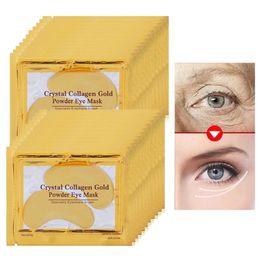 Коллагеновое золото глаз патч онлайн-Collagen Gold Eye Mask Маска для лица против темных кругов Anti-Aging Патчи для глаз для ухода за глазами Увлажняющий крем