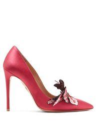schöne frauen europa kleid Rabatt Europa Beliebte Frau Spitz Stiletto Sexy Einzelne Schuhe Femal Strass Bowtie Super High Heel Schöne Damen Kleid Schuhe