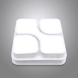 luces de techo de ahorro de energía de dormitorio Rebajas EN VENTA Rectángulo 144 LED Regulable 36W Luz de techo LED SMD 5730 Lámpara de dormitorio con luz nocturna LED Techo de ahorro de energía