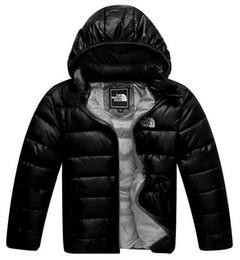 2019 anni giubbotto giacca 2018 tuta sportiva dei bambini e della ragazza di inverno caldo cappotto incappucciato dei bambini Cotton-Padded Down Jacket Kid Giacche 3-12 anni anni giubbotto giacca economici