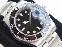 Eta механические часы онлайн-N factory V7 Luxury Watch 116610LN Eta 2836 2824 Сапфировое стекло Механические автоматические часы Керамическая рамка Без циферблата Светящийся дайвинг 100M 904L