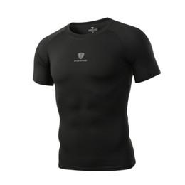 51f159acd4140 FN22 Camiseta para hombre de compresión de secado rápido Camiseta de manga  corta de secado rápido Camisetas de secado rápido