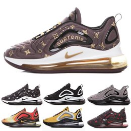 nike air max 720 720s 72c airmax 2019 Betrue Pride Scarpe Uomo Donna Be True Gilbert Baker s Rainbow flag Multi Triple Black taglia35 46 H 6DC1V
