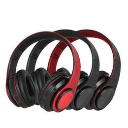 2019 cuffie monofoniche 2019 Nuove uscite portatile cuffia cuffie senza fili Bluetooth di garanzia 2 anni pieghevole leggero Gaming Headset per iPhone XR Computer