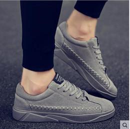 scarpe scarpe europee Sconti Le nuove scarpe casual smerigliate da uomo per la fine del 2019 vanno di moda in Europa e in America