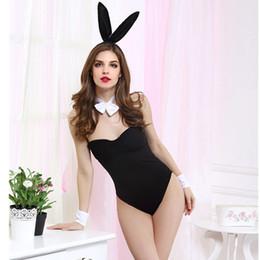 2019 Sexy Leopard Lingerie Erotic Disfraces Sexy Conejo Cosplay Uniformes Juegos de rol Disfraces Disfraces de Halloween para Mujeres Sexo desde fabricantes