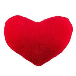 Peluche a forma di cuore online-Morbido Emoji Heart-Shaped giocattolo della peluche del cuscino Cuscino decorativo Cuscino per la casa ufficio divano