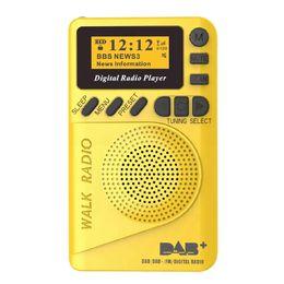 degen rádios portáteis Desconto Bolso Dab Digital Rádio, 87,5-108Mhz Mini Dab + Rádio Digital com Mp3 Player Fm Rádio Lcd Display e Alto-falante