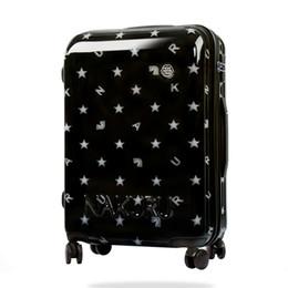 Популярные прокатки багажа мужчины путешествия троллейбус случае звезда студент колледжа чемодан женщины оригинальный box 20