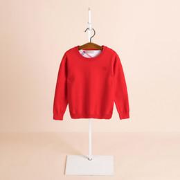 2019 autunno e inverno abbigliamento per bambini maglione a maniche lunghe commercio estero maglione girocollo in cashmere coniglio bambino girocollo britannico da