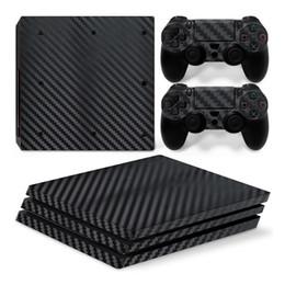 2019 NOVO PS Pro Carbono Série Fiber Game Console etiquetas e Materiais do Corpo Dor adesivos PVC para frete grátis de