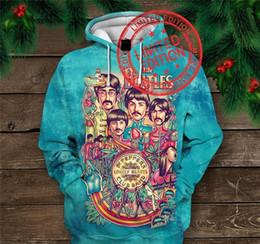 hoodie dos beatles Desconto 2019 Hot New camisola personalizar o projeto The Beatles Impressão 3D Hoodies Moda moletom bordado Tops homens s vestuário Gota Shipp