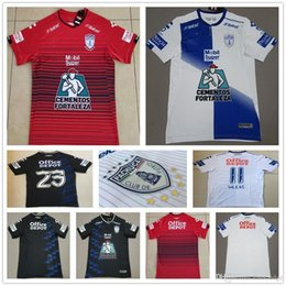 ebec75658 18 19 Liga Mx Club Pachuca Football Jerseys Manii Garcia Jara Custom Home  Away Third White Black Red 2019 Soccer Jersey Shirt Uniform