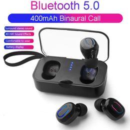 Deutschland Ti8s tws kopfhörer drahtlose bluetooth 5,0 ohrhörer sport freisprecheinrichtung kopfhörer gaming headset telefon 500mah ladegerät fall mit mic Versorgung