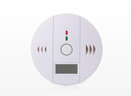 sistemas de alarma de gas Rebajas 10pc inalámbrica de batería que funciona con gas de 2020 del sistema de alarma de seguridad Alerta de humo Detectores de monóxido de carbono CO Gas alarma 10A