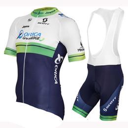 orica велосипедные одежды Скидка 2019 ORICA EDGEGREEN pro team мужская лето quick dry дышащий с коротким рукавом велоспорт Джерси велосипед MTB комплект одежды Y031102