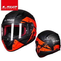 Original LS2 FF353 alex barros full face motocicleta capacete ABS estrutura segura LS2 Rapid street racing capacetes ECE aprovação de