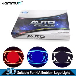 emblème k5 Promotion KAMMURI Car Styling 5D Avant Logo Badge Arrière pour Kia K5 SORENTO SOUL Forte CERATO Avant Logo Emblème Arrière
