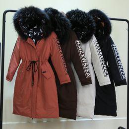 sombreros de mujer Rebajas Ropa de invierno Mujer Algodón Cuello de sombrero largo y largo de mujer Use ropa de algodón en ambos lados Sólido abrigo cálido