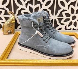 Australia nuovi stivali da neve firmati di marca per tutti gli uomini di  lana linning comodi e caldi uomini casual di alta stagione scarpe casual  38-44 8254c24d339