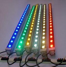 Luci di rondella condotte online-10pcs LED Wall Washer 6W 9W 12W 36W DMX 512 110 V 220 V RGB Led Luce di inondazione IP65 Illuminazione per esterni Giardino Building Bridge Paesaggio