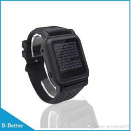 Nouvelle arrivée MP4 Watch Mémoire de 8 Go eBook Watch Support Lecteur de livre électronique Lecteur de musique Différentes langues ? partir de fabricateur