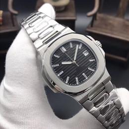 Relojes deportivos de gama alta digital online-Diseño de moda de gama alta reloj de hombre diseño central de automatización Correa de acero inoxidable 42 MM maquinaria deportiva de negocios reloj resistente al agua de varios colores