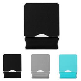 Esponja de Memória macia Mousepad Ergonômico Mouse Pad Mão Painel Duro Suporte de Pulso Gaming Mat para PC Computador Portátil com Descanso de pulso de Fornecedores de origens de qualidade