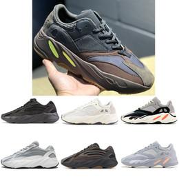 zapatillas multi color Rebajas 2019 Kanye 700 3M Reflective Vanta Analog Geode Inertia Static West V2 Wave Runner Zapatillas de running Hombre Mujer Zapatillas de deporte de color malva