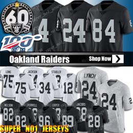 84 Antonio Brown Trikot Oakland 4 Derek Carr Raiders Trikots 24 Lynch Johnathan Abram 34 Bo Jackson 28 Josh Jacobs 12 Stabler von Fabrikanten
