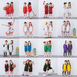 chaleco casual de verano para niños Rebajas Niños Ropa deportiva Conjunto Fútbol Baloncesto Fútbol Deportes Chaleco Pantalones cortos Conjunto Niños Chicos Chicas Verano Baloncesto Chándal