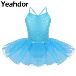 Lisin Toddler Girls Ballet Sleeveless Dress Tutu Leotard Dance Gymnastics Strap Clothes Outfits