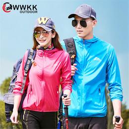 Camisa de vento on-line-WWKK impermeável Windproof Ciclismo Windcoat Jersey Quick Dry revestimento encapuçado Brasão de bicicleta Raincoat MenWomen Jackets Ciclismo Caminhadas
