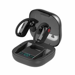 Наушники большие онлайн-Спорт Bluetooth 5.0 Наушники Беспроводные стерео наушники Big Power Bass гарнитура Handsfree TWS Earbuds С Micrphone