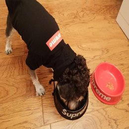 верхние домашние собаки Скидка Оптовая Pet Dog Cat Кормушка Чаша Для Воды Блюдо Sup Топ Модные Кормушки Waterers Кишечник Для Пищи И Воды