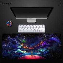 wissenschaft computer Rabatt Mairuige Computer Desktop Science Fiction Charakter Tier verblasst nicht Mauspad Dekoration geeignet Pad Tastatur Mat