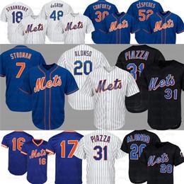 keith hernandez jersey Rabatt 20 New Pete Alonso York 7. Marcus Stroman Mets Jersey 48 Jacob deGrom 31 Mike Piazza 52 Yoenis Céspedes Keith Hernandez-Baseball-Shirts