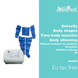 2020 cellulite-maschinen Luft-Wellen-Druck-Pressotherapie-Lymphdrainage-Detox-Fett-Abbau-Cellulite, die Gewichtverlust-Salonmaschine abnimmt günstig cellulite-maschinen