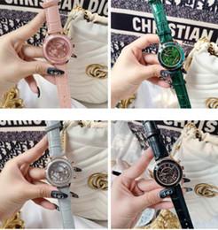 novo relógio senhora elegante de DACR, seis pontos com espelho valor refrator alta facial, relógio de pulso calendário personalidade do aluno de Fornecedores de silicone de qualidade