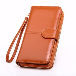 30eb536472c9 Китайские Дизайнер женщины кошелек искусственная кожа Леди длинный кошелек  мобильный телефон сумка мода женщины кошельки запястье