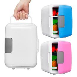 4L mini voiture maison ultra silencieux réfrigérateurs usb à faible bruit de voiture réfrigérateurs congélateur refroidissement chauffage boîte réfrigérateur 220V / 12V ? partir de fabricateur